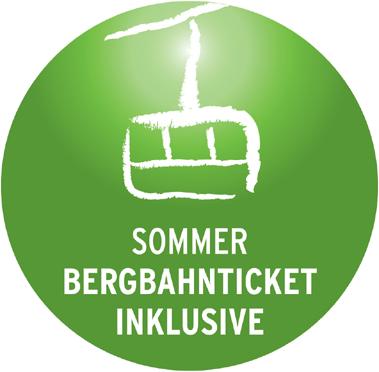 Bergbahn Ticket inklusive